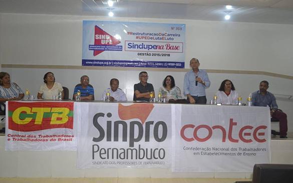 DIRETORIA DO SINPRO PERNAMBUCO É EMPOSSADA