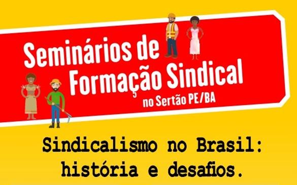 SEMINÁRIO DE FORMAÇÃO SINDICAL NO SERTÃO!
